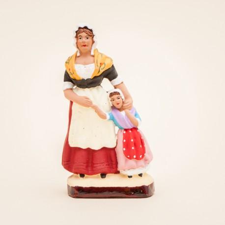 La femme et sa fille