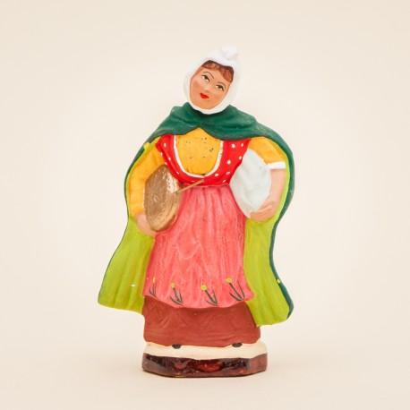 Femme à la chaufferette 7 cms