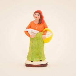 La Femme à la poule 7 cms