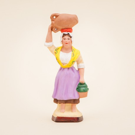 Santon Femme à la cruche 7 cms