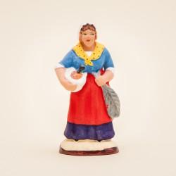 Femme à l'aïoli 7 cms