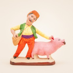 Santon Truffier au cochon