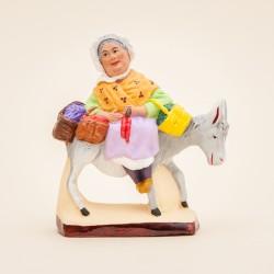 Santon Margarido sur l'âne