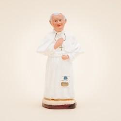 Santon de Provence - Le pape Jean-Paul II 7cm - Santons Flore Aubagne