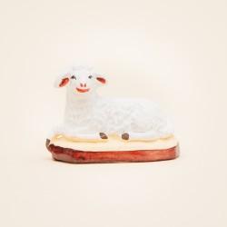 Santon mouton couché