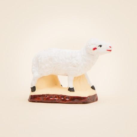 Santon de Provence - Mouton debout 7cm - Berger - Santons Flore Aubagne