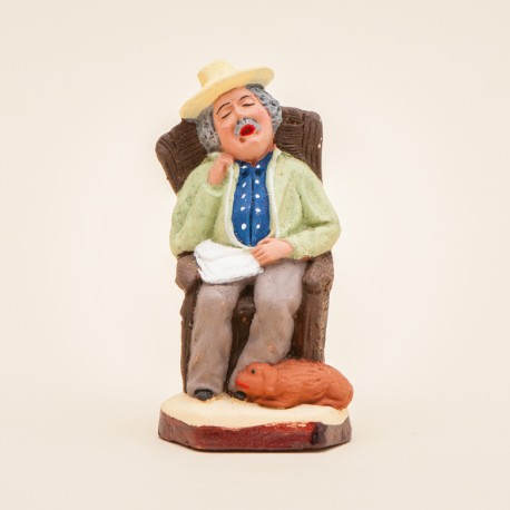 L'homme sur le fauteuil 7 cms