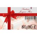Carte cadeau 80€ - Santons Flore