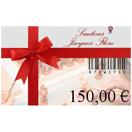 Carte cadeau 150€ - Santons Flore