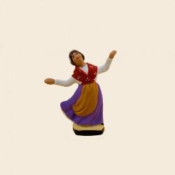 Santon La danseuse de Farandole 1