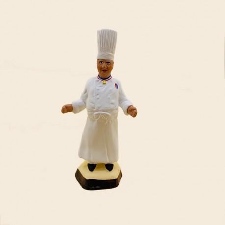 Santon de Provence - Mr Paul Bocuse le Chef étoilé 7cm - Santons Flore