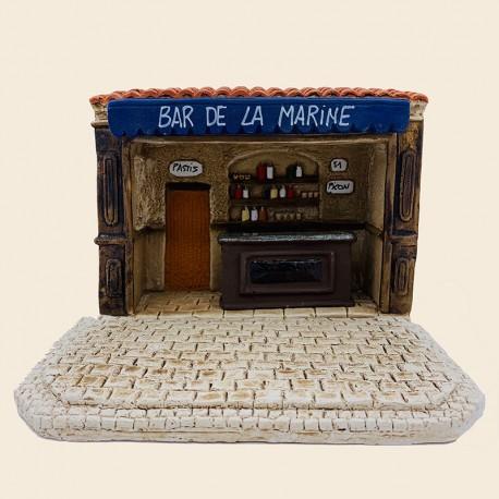 Santon de Provence - Bar de la Marine - Pagnol - Santons Flore