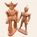 Figurine Goldorak et Actarus pièces uniques