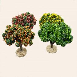 Santon de Provence - Les arbres fruitiers - Décor de Crèche - Santons Flore
