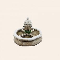 La Fontaine du village  pour santon 7 cm
