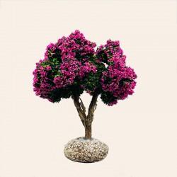 Santon de Provence - Le Laurier rose 12 cm - Santons Flore Aubagne
