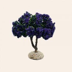 Santon de Provence - Arbre de crèche - Le lilas - Santons Flore