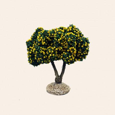 Santon de Provence - Le Pommier jaune 12 cm - Santons Flore Aubagne