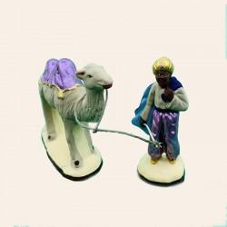 Santons le Chamelier et son chameau