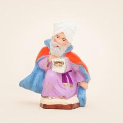 Santon de Provence - Roi Mage - Melchior - Santons Flore aubagne