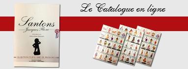 Catalogue de Santons de Provence - Santons Flore