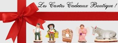 Cartes Cadeaux : Découvrez une idée cadeau originale ! Santons de Provence Santons Flore